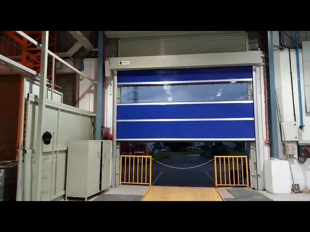 Scorpio High Speed PVC Doors