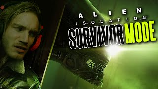 Alien: Isolation - Survivor Mode - TERRIFYING