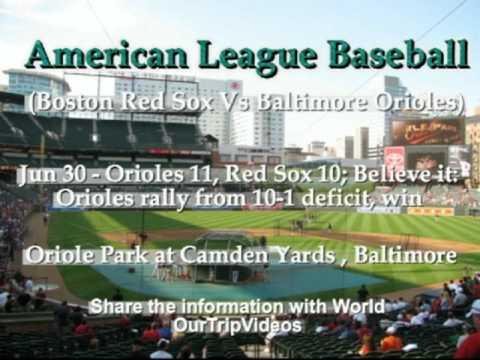 MLB - AL - Boston Red Sox Vs Baltimore Orioles - Part 1
