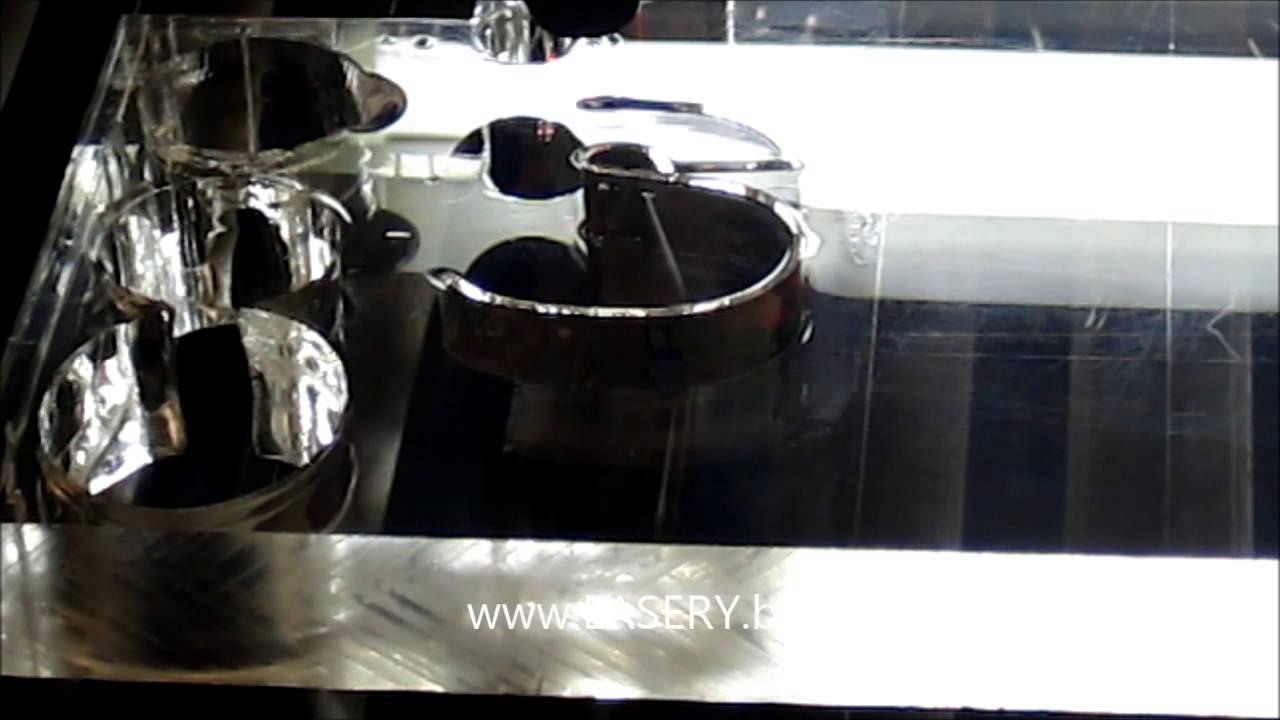 Cięcie Plexi 20mm Urządzenie serii PROo mocy 50W www.lasery.biz ...