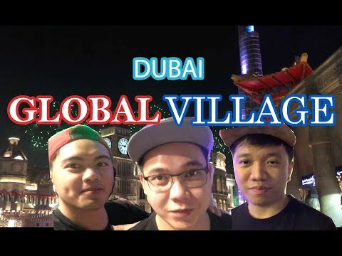 Dubai Global Village + Carnival Rides | Filipino Vlog |  Dub