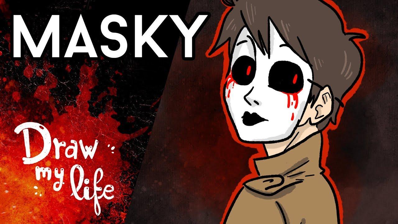 El ORIGEN de MASKY - Draw My Life
