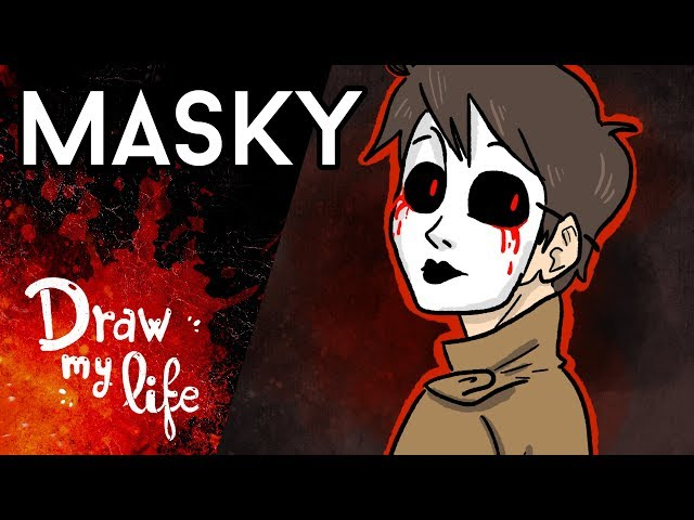El ORIGEN de MASKY - Draw My Life en Español