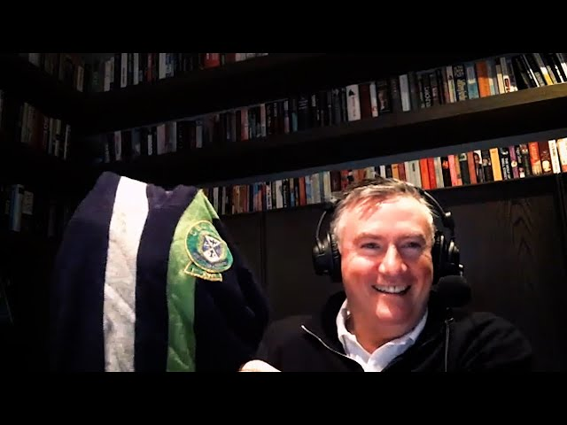 Eddie McGuire Shows Off His U18s Footy Jumper! | Hot Breakfast | Triple M