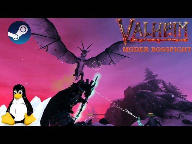 Valheim - Moder Bossfight | Linux