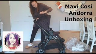 Maxi Cosi Andorra Travel System   Unboxing and Overview