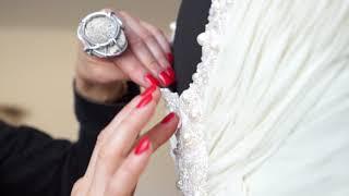 Самые красивые свадебные платья. Мастер класс Вышивка свадебного платья