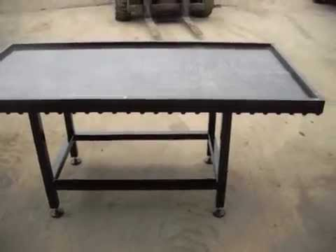 Confectionery Cold Table by Adansonia Confectionery Engineering