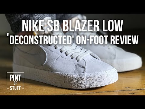 e89e5f4d6 Nike SB Zoom Blazer Low 'Deconstructed' On-Foot Sneaker Review with ...