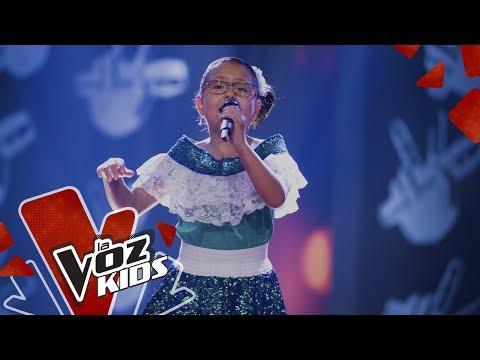 Viviana canta Rosa María – Audiciones a Ciegas   La Voz Kids Colombia 2019