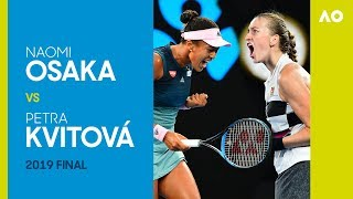 Naomi Osaka vs Petra Kvitova Full Match | Australian Open 2019 Final