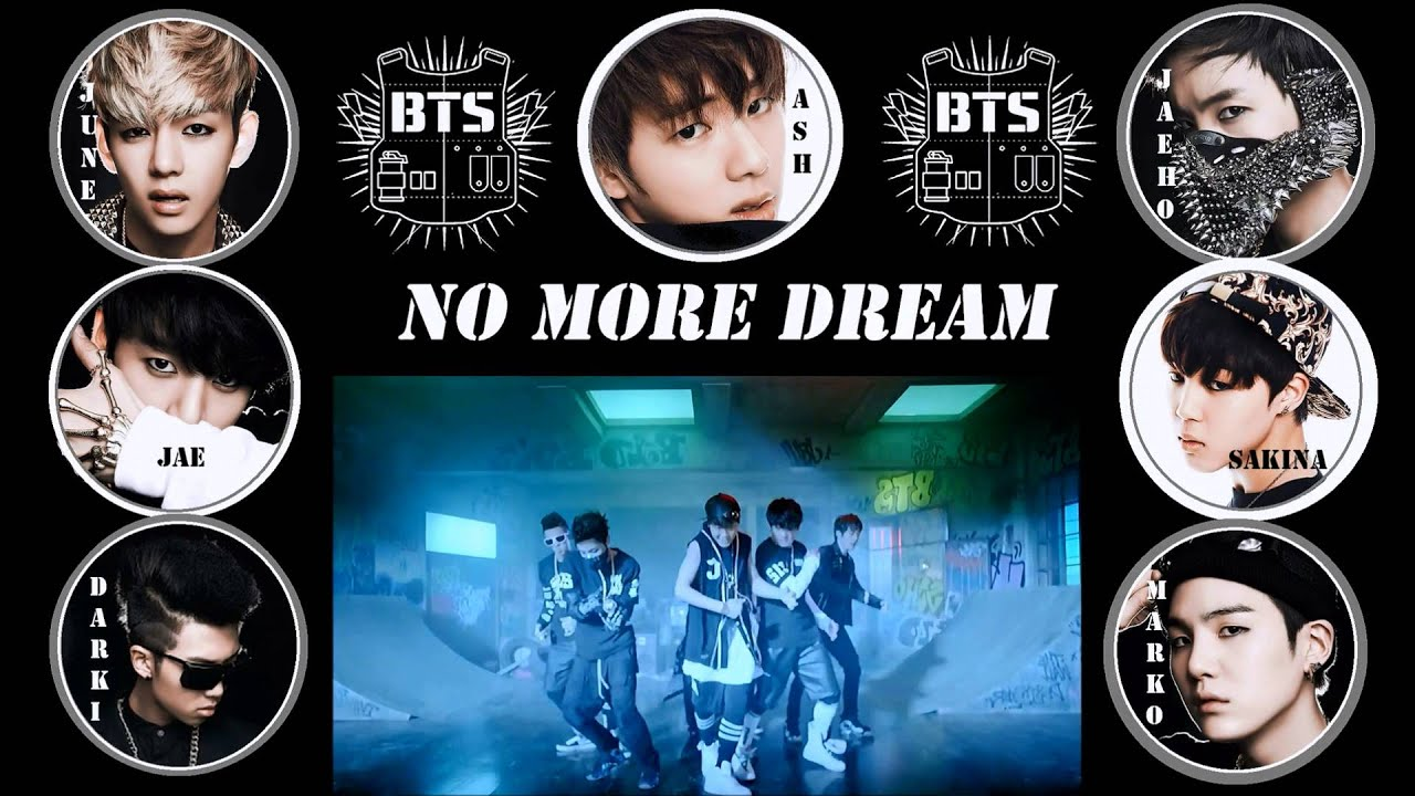 KpopByeolEnt NO MORE DREAM BY BANGTAN BOYS COLLAB