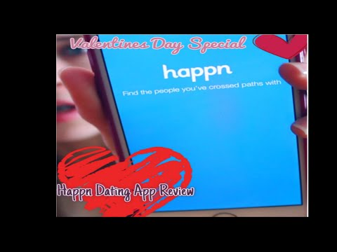 Valentines Day Special! | Happn Dating App Review