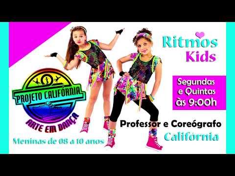 Azul piscina - Mc Livinho  Ritmos Kids Projeto Califórnia Arte em Dança