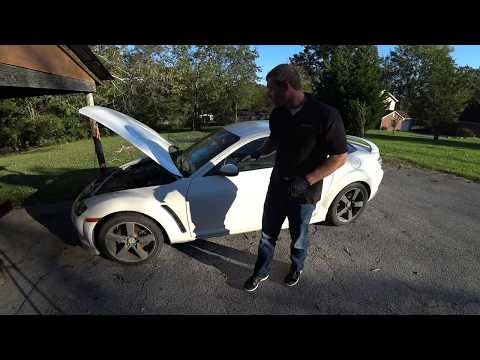 Project RX8 Interior Removal Part 1 (Seats, Door Panels, Console, Airbag)