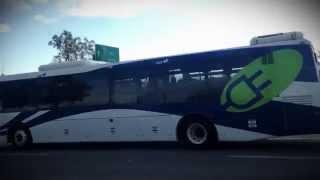L'autobus électrique maintenant en service sur la ligne 42
