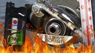 Primerol 5W40 Dynamic Jak skutecznie olej chroni silnik? 100°C