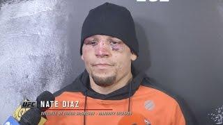 UFC 202: Nate Diaz Backstage Interview