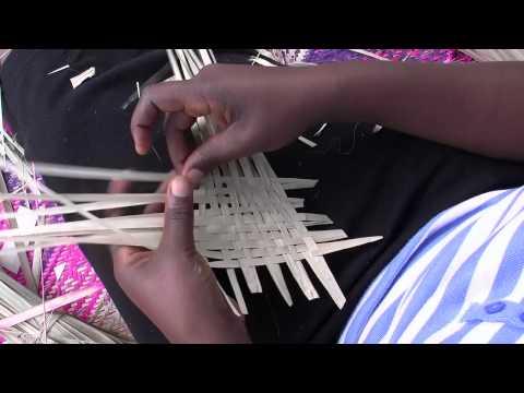 Traditional African Weaving in Uganda