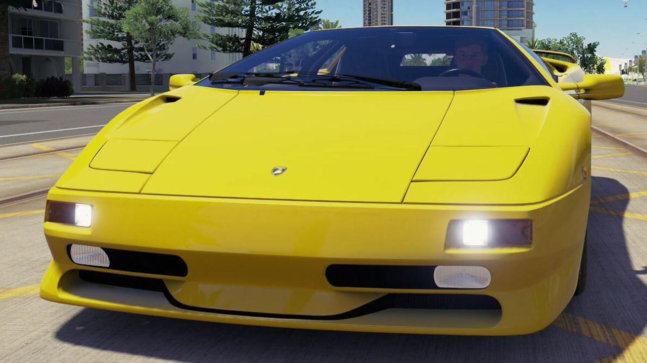 Lamborghini Diablo SV 1997 - Forza Horizon 3 - Test Drive Free Roam on maserati diablo, murcielago diablo, chrysler diablo, honda diablo, cadillac diablo, ducati diablo, isuzu diablo, orange diablo, bugatti diablo, toyota diablo, gmc diablo, ferrari diablo, strosek diablo, blue diablo, el diablo,