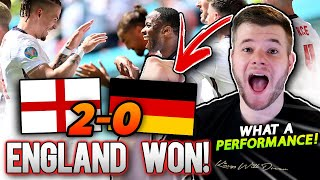 Southgate ACTUALLY Got It RIGHT EURO 2020 England vs Germany Review