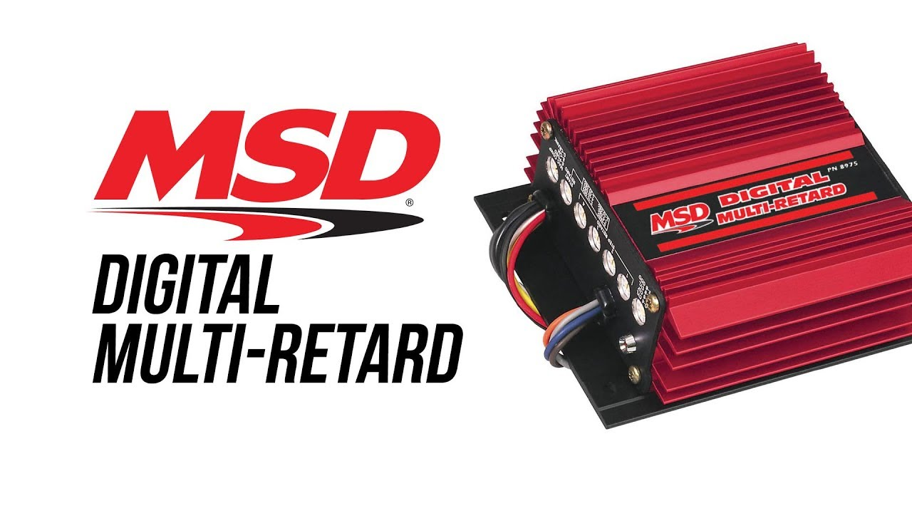 small resolution of msd digital multi retard control msd performance ignition