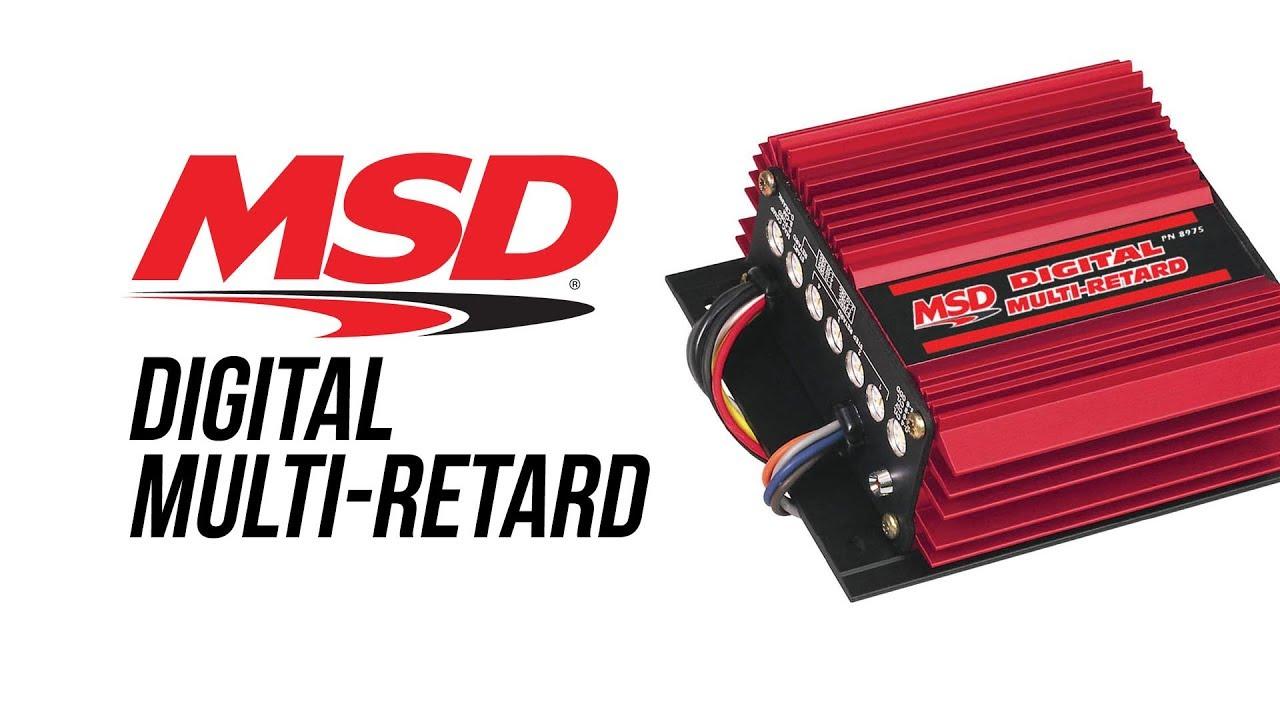 hight resolution of msd digital multi retard control