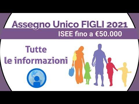 Assegno Unico Figli 2021: Tutte le informazioni