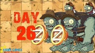 Plants vs Zombies 2 - Wild West - Day 26 [Gargantaurs] No Premium