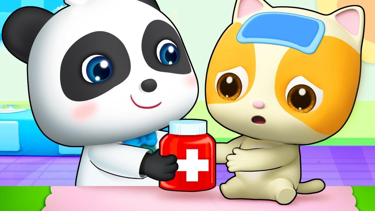 تناول الدواء لأطرد الجراثيم | اغاني الجراثيم | بيبي باص | BabyBus Arabic