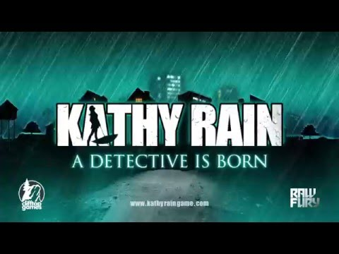 Kathy Rain Release Trailer - A Detective Is Born