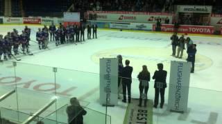 Kloten Flyers Good bye Ronnie Rueger