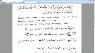 Download Video Ngaji Kitab Jurumiyah Bagian 5 I'rob MP3 3GP MP4