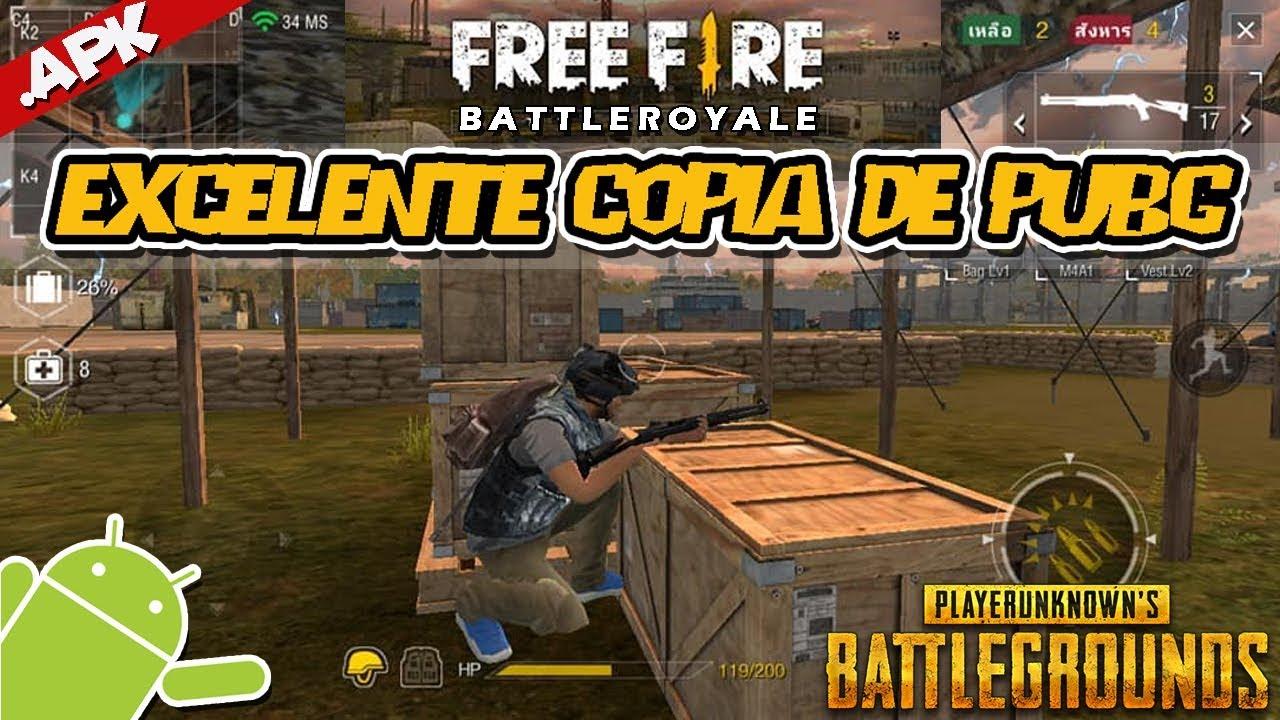 Cómo Jugar A Playerunknown S Battlegrounds En Android: Juegos Gratis Free Fire