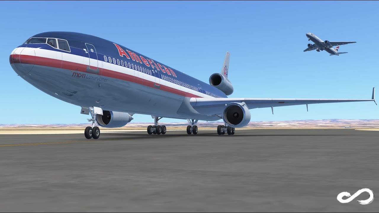 American Airlines Md 11 Los Angeles To San Francisco