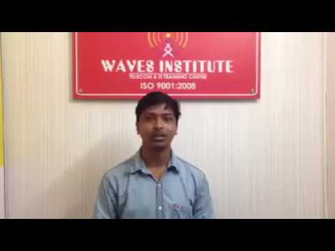 Waves Institute Pune  Telecom Training   Placed Student 8