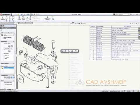 Dibujos con SolidWorks 2012  YouTube