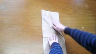Dobragem de papel A1 para A4 - Tutorial