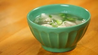 How to Make Wonton Soup | Asian Cooking