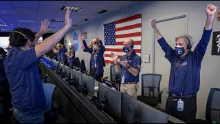 NASA Perseverance Rover Lands Safely On Mars | FULL LANDING SEQUENCE