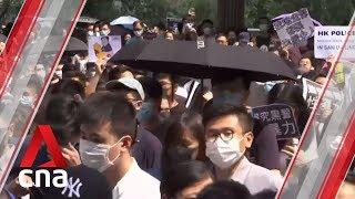 Hong Kong braces for another weekend of demonstrations