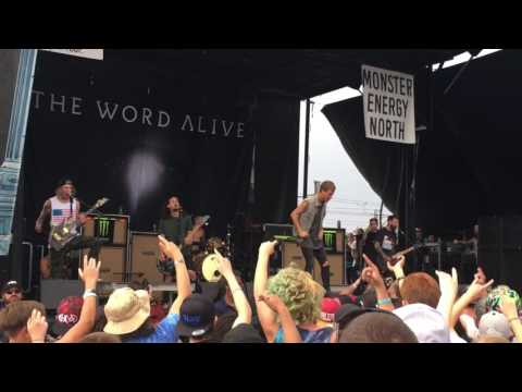 "The Word Alive (ft. Masato from Coldrain) - ""Made This Way"" (Denver Warped Tour - 07/31/16) LIVE HD"