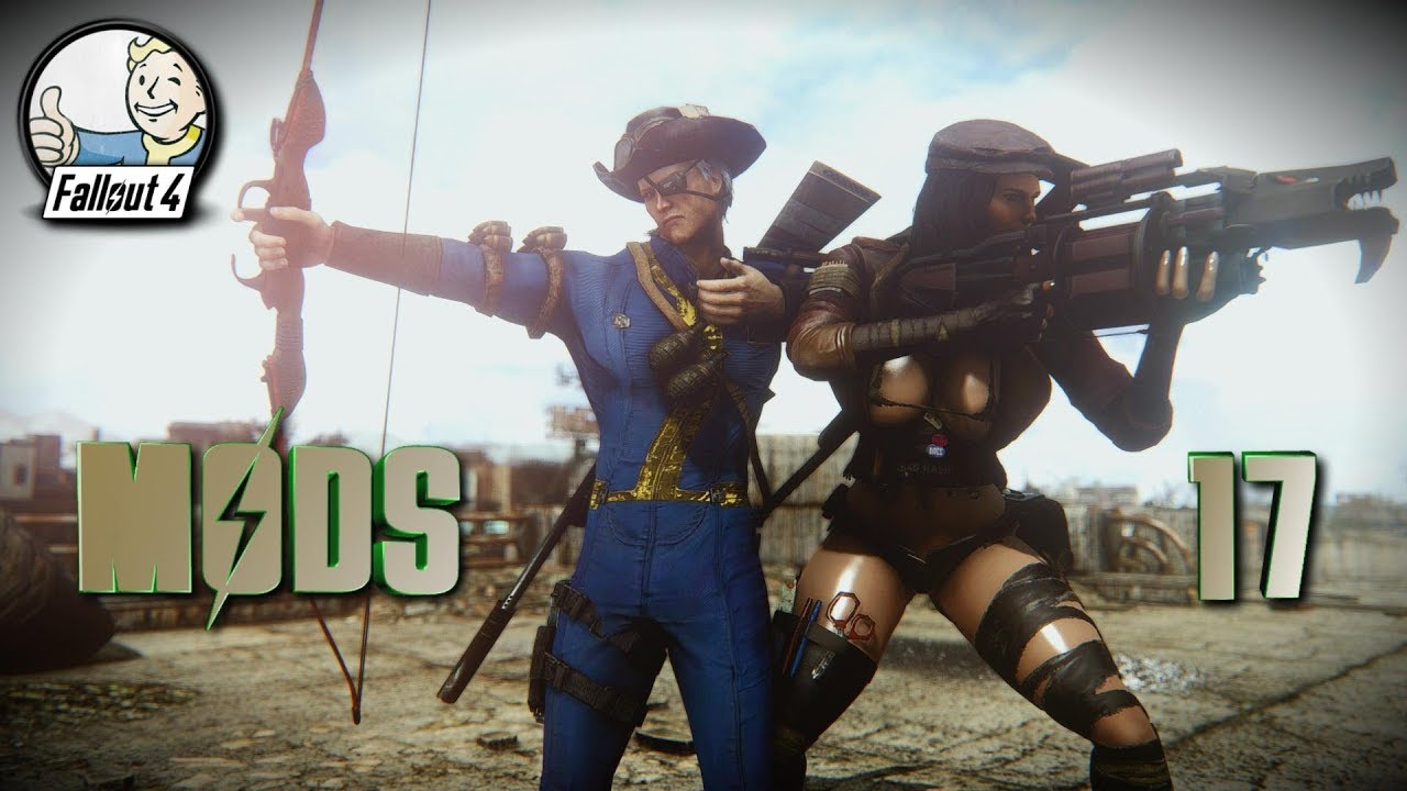GOING OLD SCHOOL - Fallout 4 Mods & More Episode 17 by Ika's Gaming Zone
