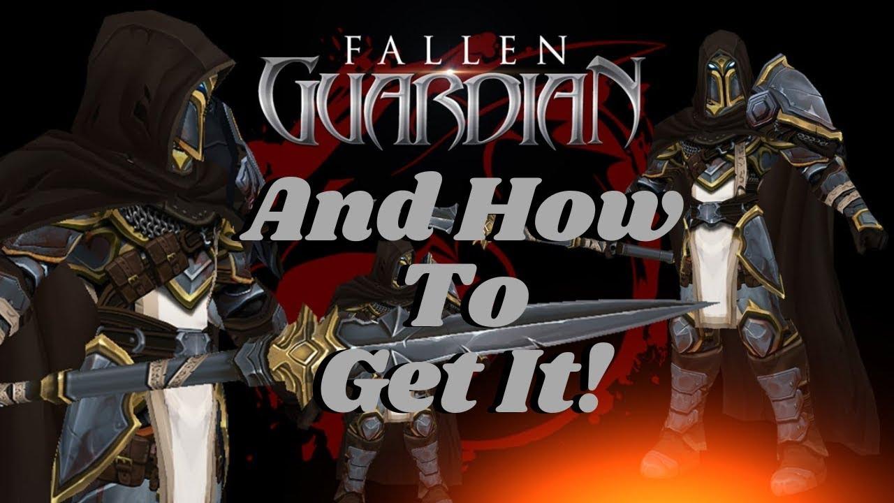 AQ3D How To Get FALLEN Guardian Set And Title! AdventureQuest 3D