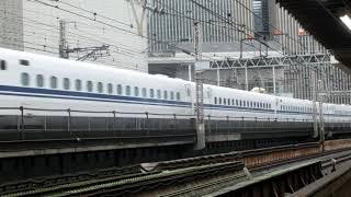 東海道新幹線N700S試運転 有楽町駅通過