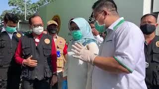 Pemkab Bogor dan BIN Gelar Rapid Test di Pasar Cibinong