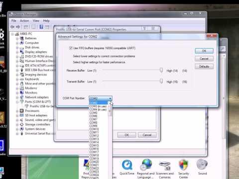 Prolific usb-to-serial comm port windows 8