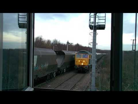 class 47 to Shirebrook at Maltby