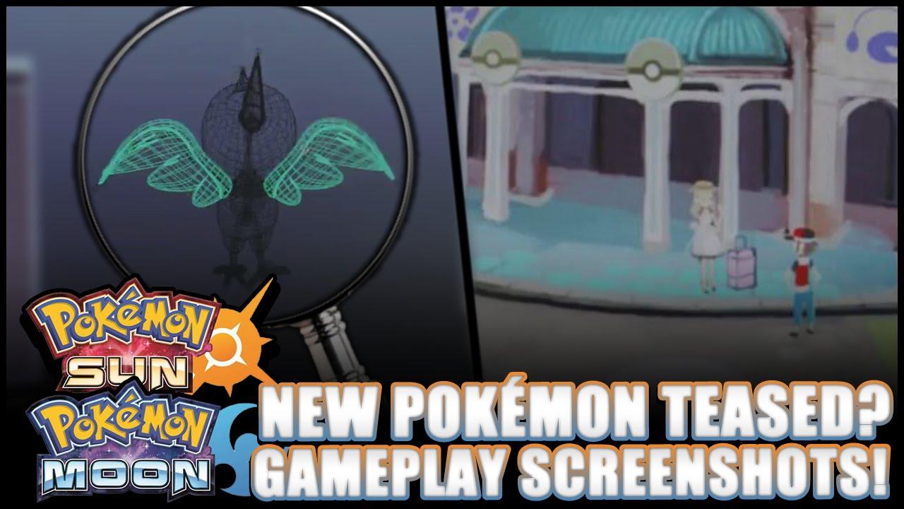 Pokémon Sun And Moon New Pokémon Teased In Teaser Trailer Youtube