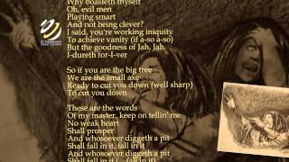 "Bob Marley ""Small Axe"" (Lyrics-Letras)"